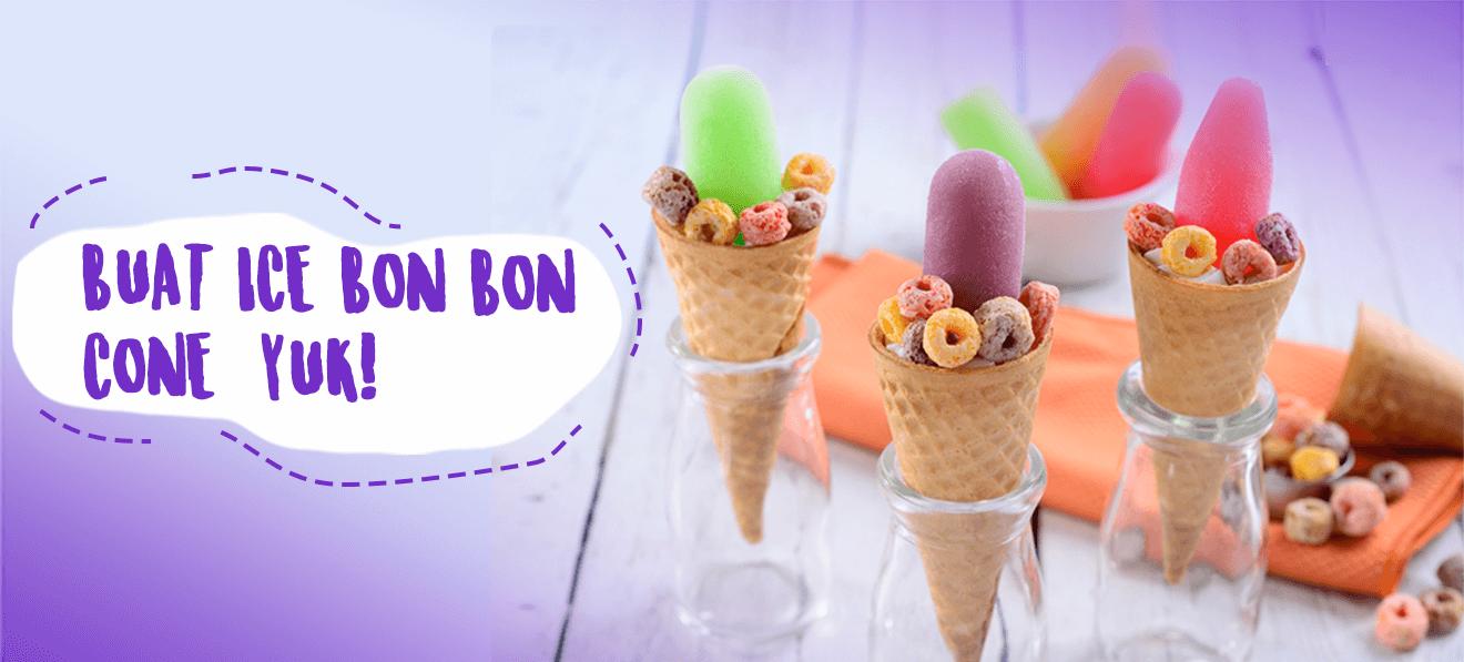 Ice Bon Bon Wong Cone