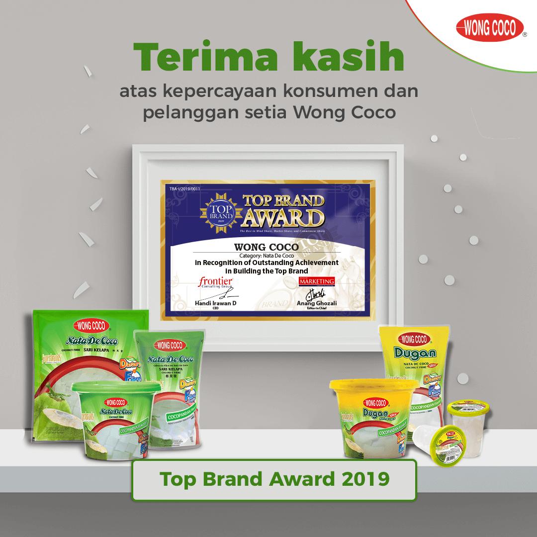 Top Brand Award Nata De Coco 2019