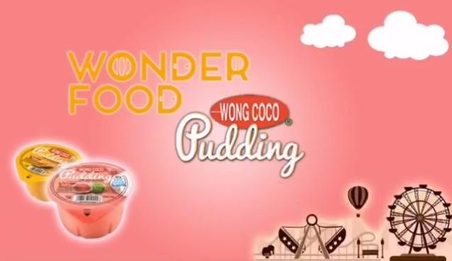 Berbagi Keceriaan bersama Wong Coco Puding dan Wonderfood Indonesia