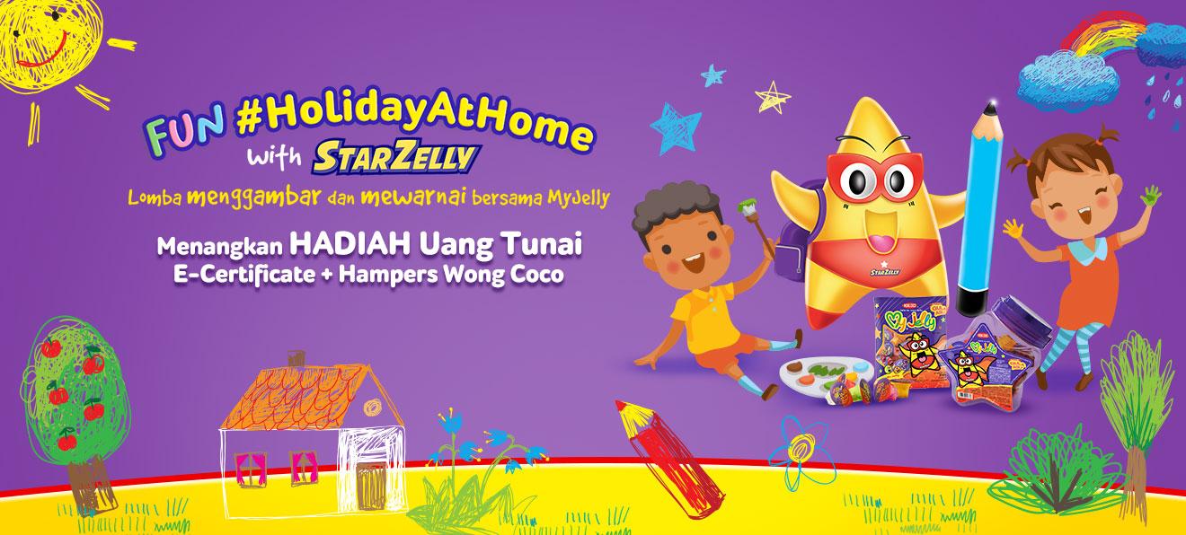 Fun #HolidayAtHome with StarZelly
