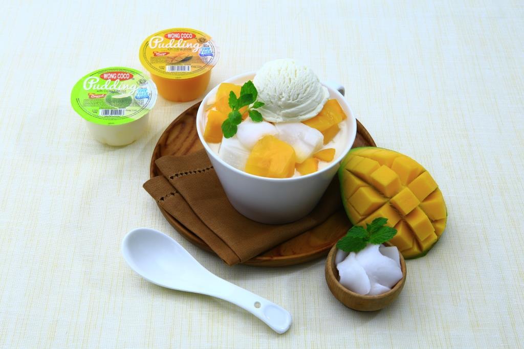 Es Pudding Kelapa Mangga Wong Coco