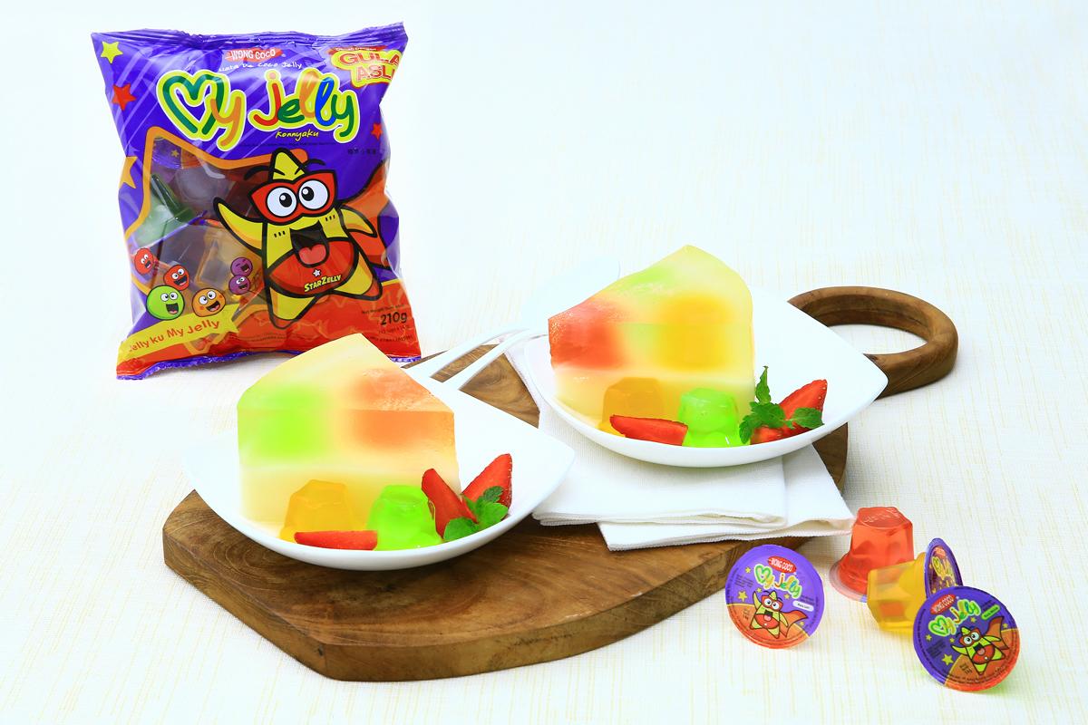 Puding Susu Warna Warni My Jelly Wong Coco