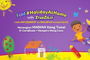 Fun #HolidayAtHome with StarZelly