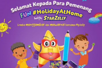 Pemenang Fun #HolidayAtHome with StarZelly!