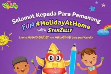 Pemenang Fun #HolidayAtHome with StarZelly!