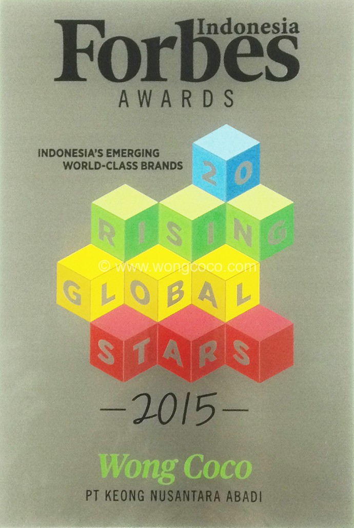 Forbes Indonesia Awards Indonesia's Emerging World-Class Brand