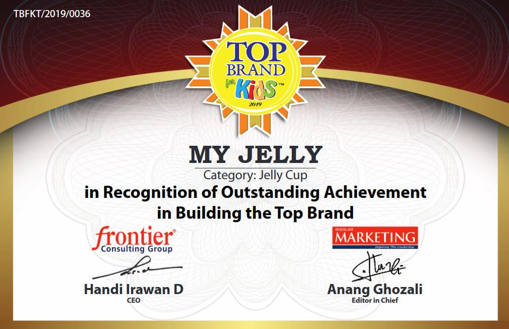 Top Brand Kids Award MyJelly 2019