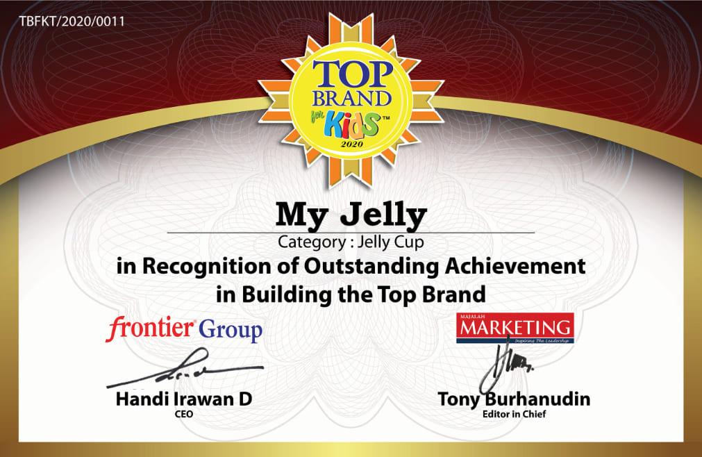 Top Brand Kids Award MyJelly 2020